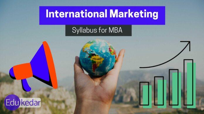 international marketing syllabus
