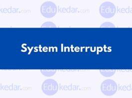 System Interrupts